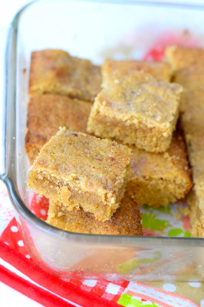 keto gluten free snickerdoodles recipe