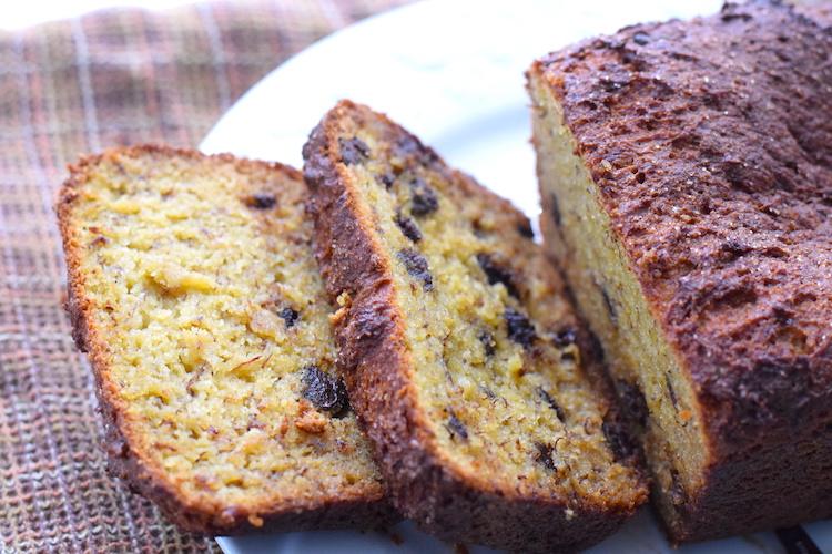 low carb banana bread