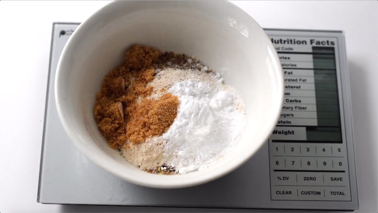 sukrin brown sweetener flax meal