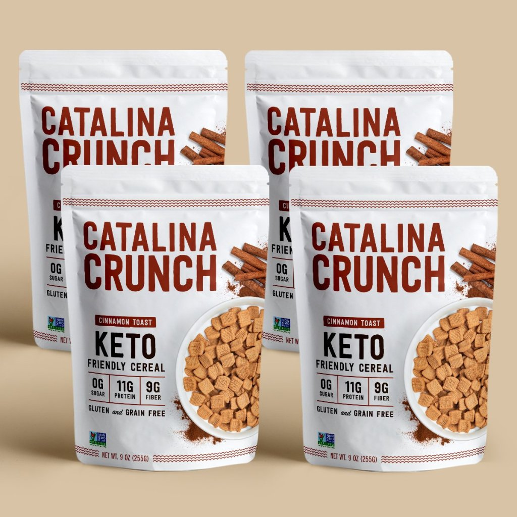 Cinnamon Toast Catalina Crunch Cereal Review