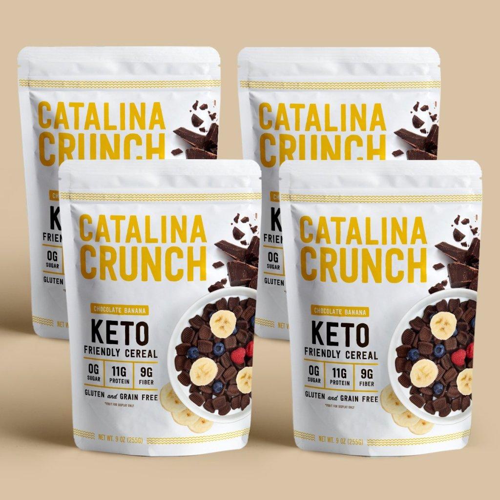 Banana Chocolate Catalina Crunch Cereal Review