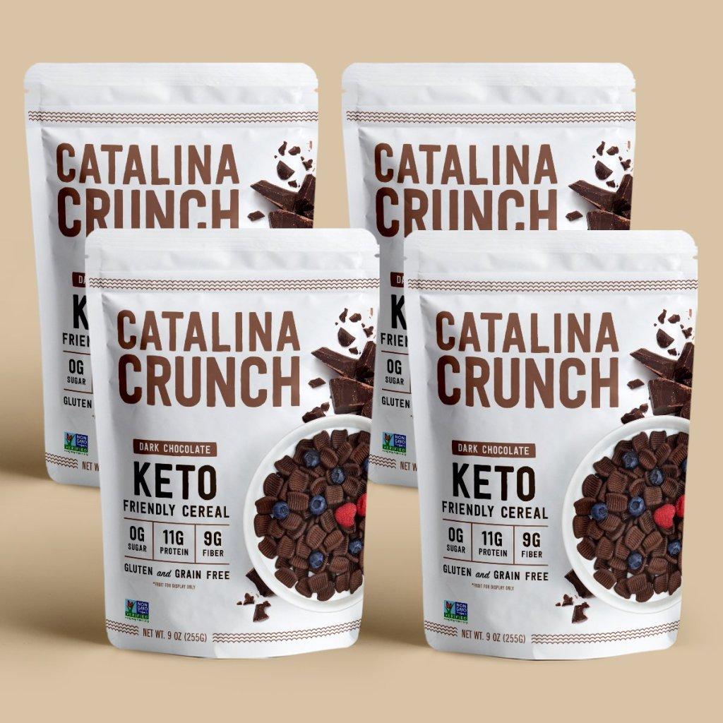 dark chocolate Catalina crunch review