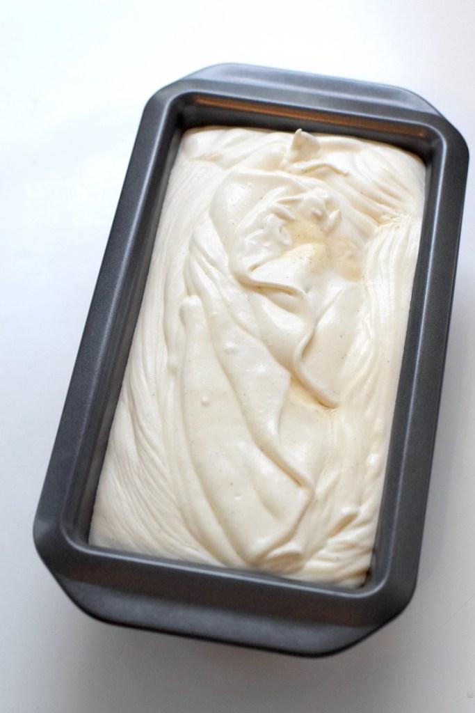 heavy cream vanilla ice cream