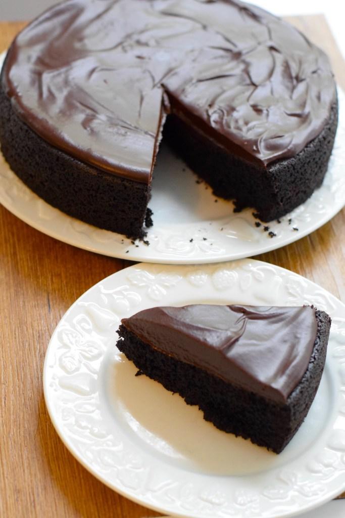 keto coconut flour chocolate cake