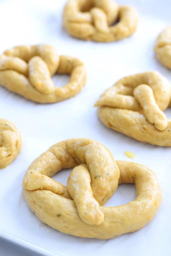 keto soft pretzel dough