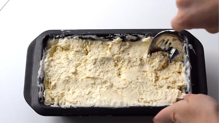 keto vanilla ice cream frozen