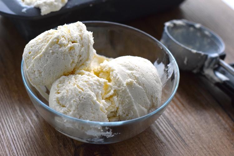 keto vanilla ice cream no ice cream maker