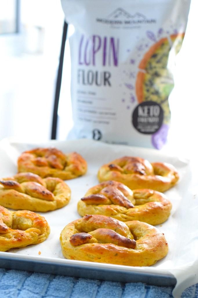 lupin flour soft pretzels