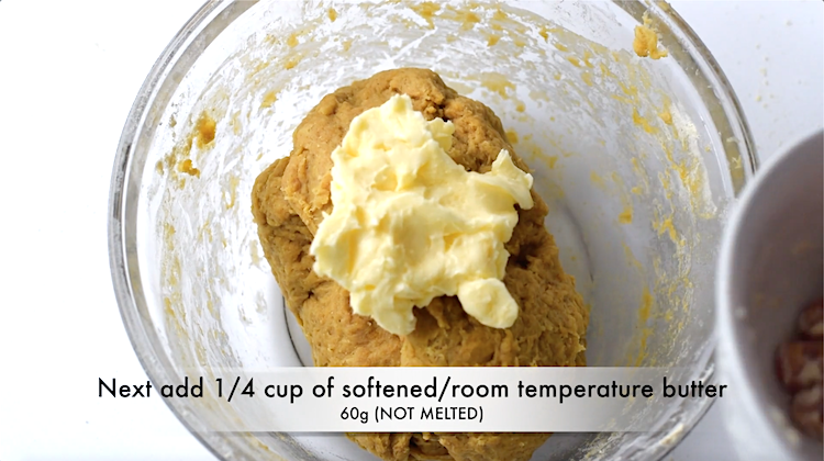 yeast vital wheat gluten dough, with butter