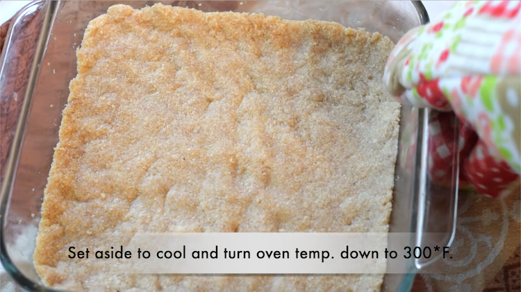 almond flour cheesecake crust