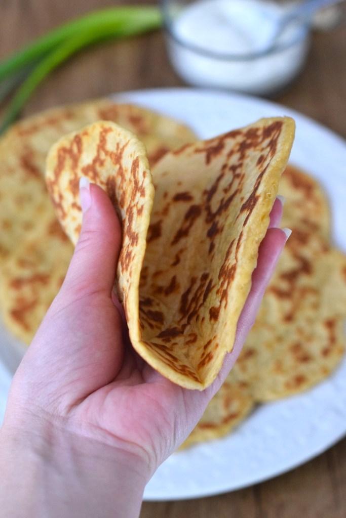 easy keto flatbread