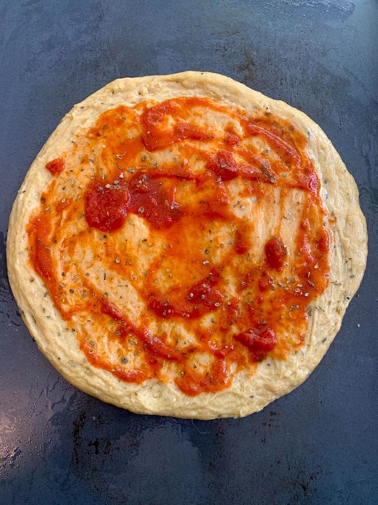 keto lupin flour pizza crust