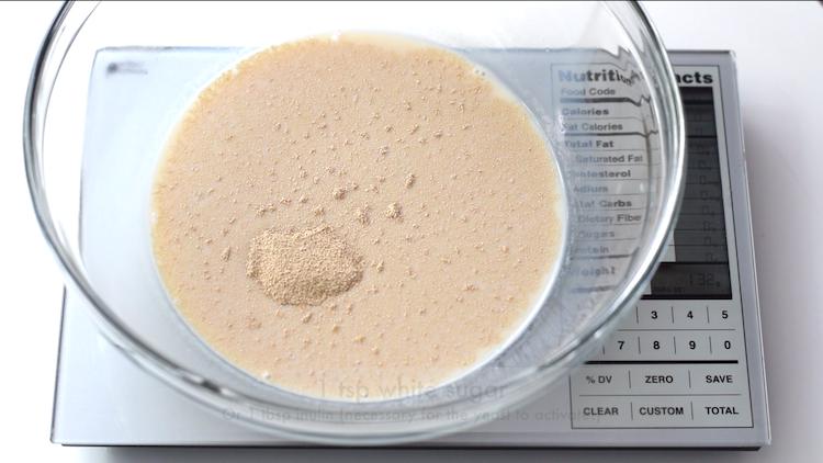 almond milk yeast