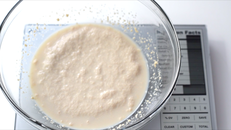 foamy activated yeast