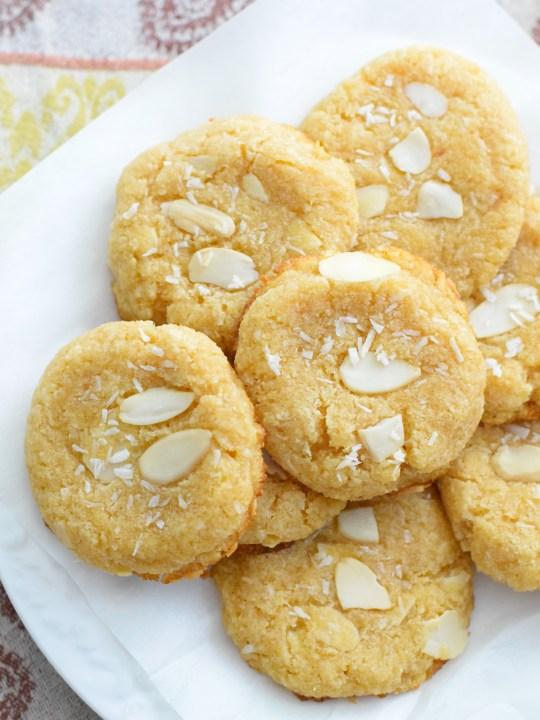 Keto Coconut Almond Cookies