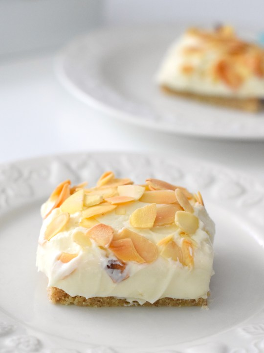 No Bake Keto Almond Cheesecake