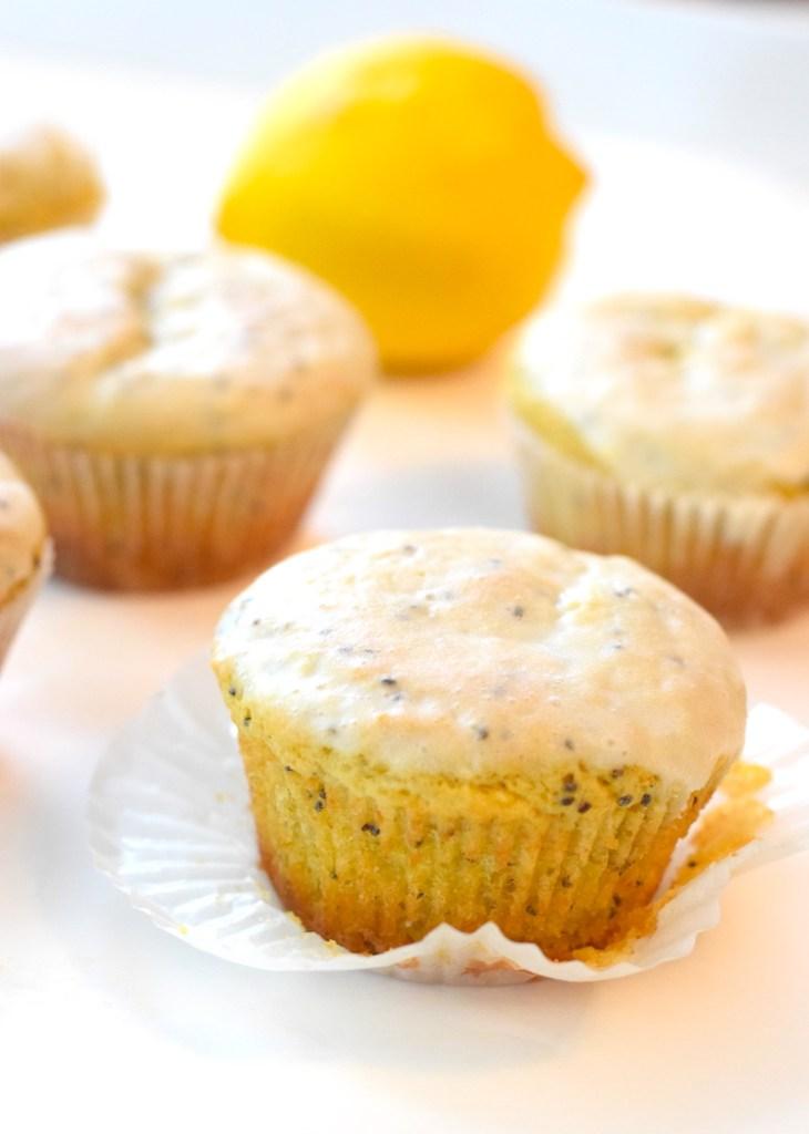 easy keto lemon muffins