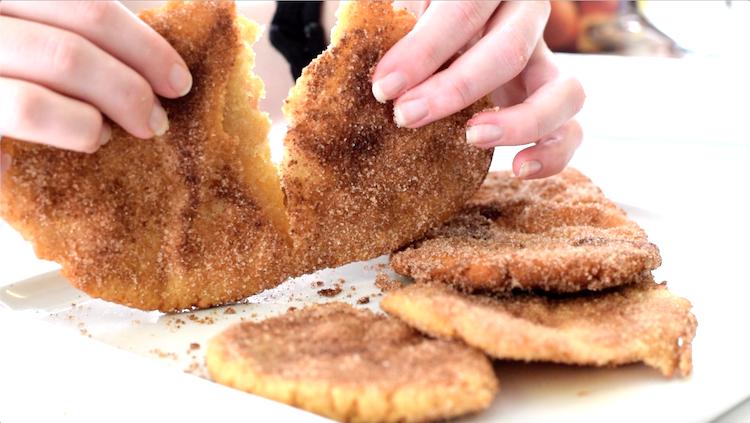 keto cinnamon sugar dough