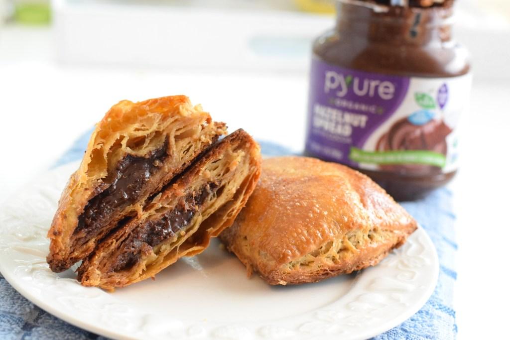 keto nutella puff pastry