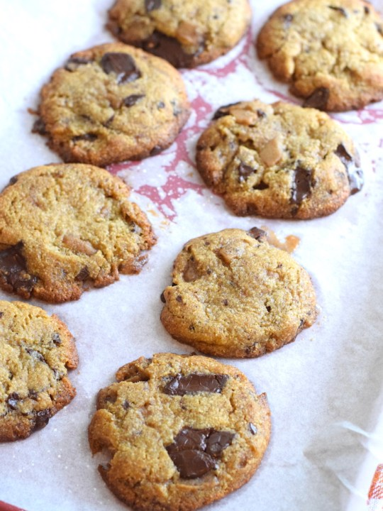 Keto 24 Hour Chocolate Chip Cookies