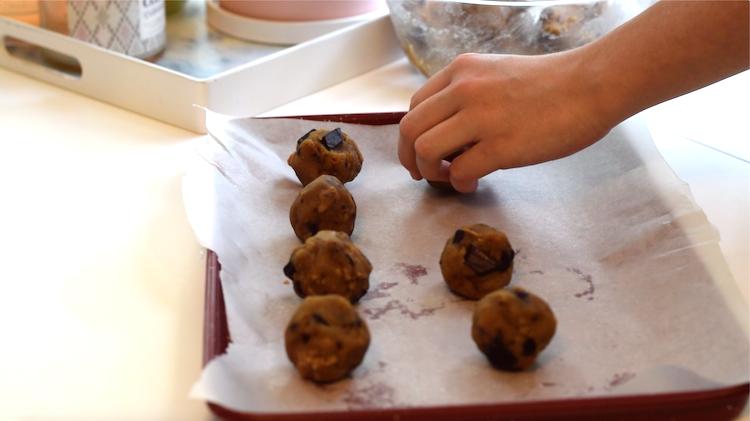 keto cookie dough balls