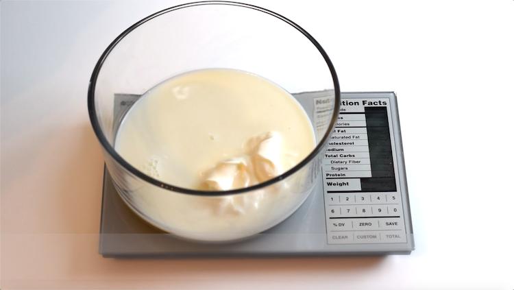 milk and sour cream